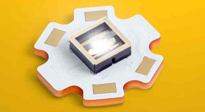 Kyocera представила SMD-лазер двойного назначения, который и светит, и греет