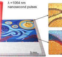 В ИТМО разрабатывают лазерную «кисть», которой можно будет рисовать по металлу без краски