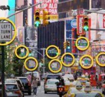 Лазер и дорожные знаки помогут в создании умного города