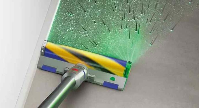 Dyson выпустил новые пылесосы с технологией лазерного обнаружения невидимой пыли
