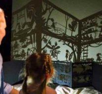 Книги превратят детскую комнату в театр теней