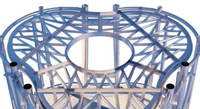 Металлический пол для лунной базы напечатали на 3D-принтере